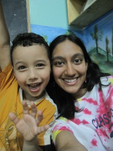 Suhail was one of the most enthusiastic and energetic kids there!